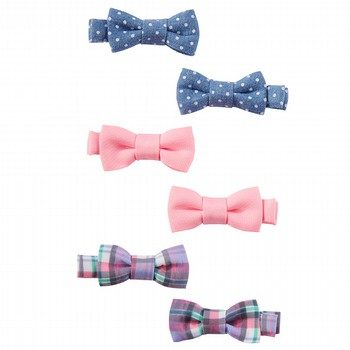 Oshkosh 6PK Plaid Clips