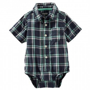 Oshkosh Plaid Bodysuit