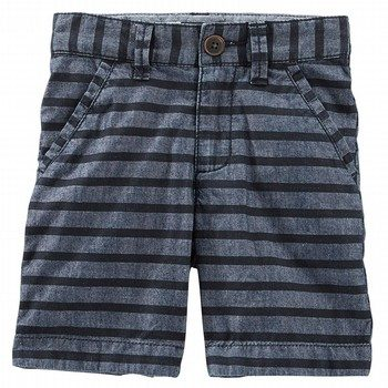 Oshkosh Print Stripe Shorts