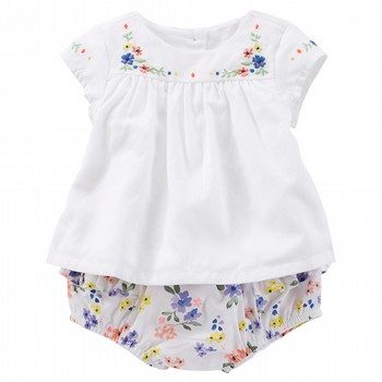 Oshkosh 2PC Floral Dress Set