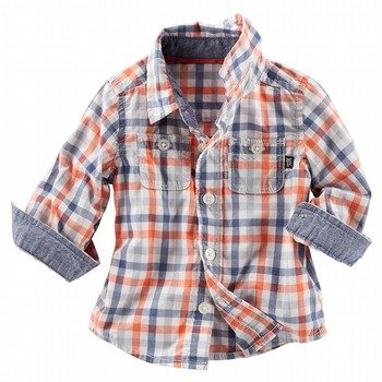 Oshkosh Check Plaid Shirt