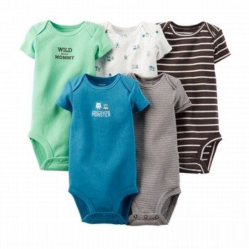 Carter's 5PK Bodysuit Set