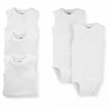 Carter's 5PK Sleeveless Bodysuit Set