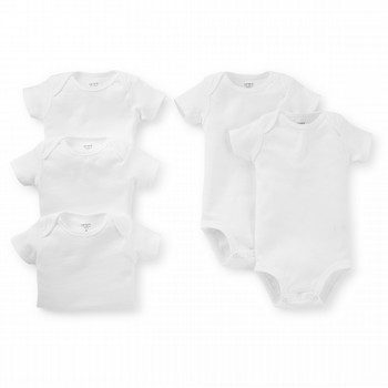 Carter's 5PK S/S Bodysuit Set