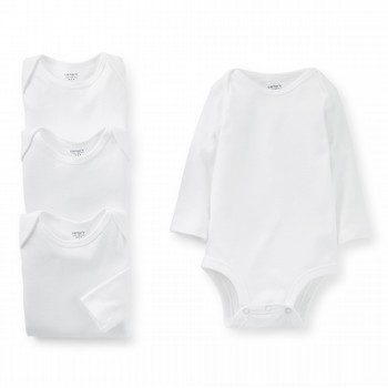 Carter's 4PK L/S Bodysuit Set