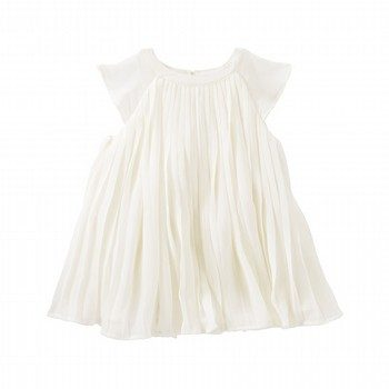 OshKosh 2PC Pleated Chiffon Dress
