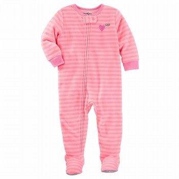 OshKosh Stripe Cotton One Piece PJ's