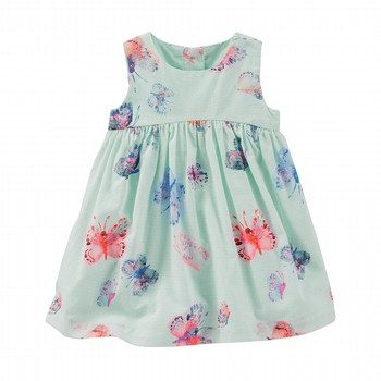OshKosh 2PC Butterfly Print Dress