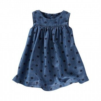 OshKosh 2PC Dotted Chambray Dress