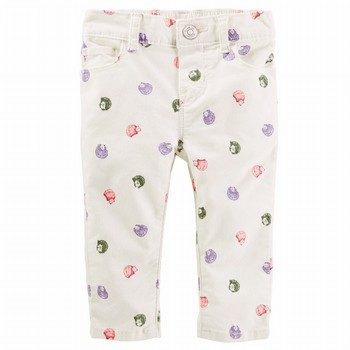 OshKosh Hedgehog Print Stretch Twills