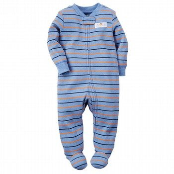 Carter's Cotton Zip-Up Sleep & Play Onepiece