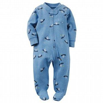 Carter's Cotton Zip-Up Sleep & Play