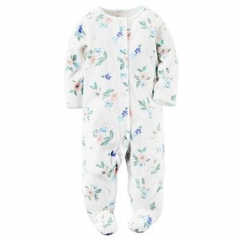 Carter's Fleece Snap-Up Sleep & Play