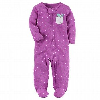 Carter's Cotton Zip-Up Sleep & Play One-Piece