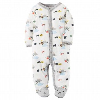 Carter's Cotton Snap-Up Sleep & Play