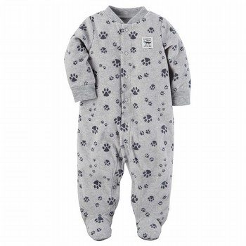 Carter's Fleece Zip-Up Sleep & Play One Piece