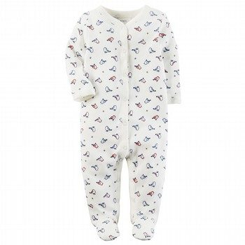 Carter's Thermal Snap-Up Sleep & Play