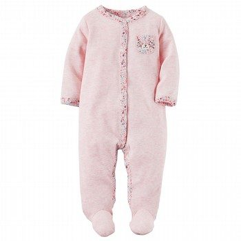 Carter's Heathered Thermal Snap-Up Sleep & Play