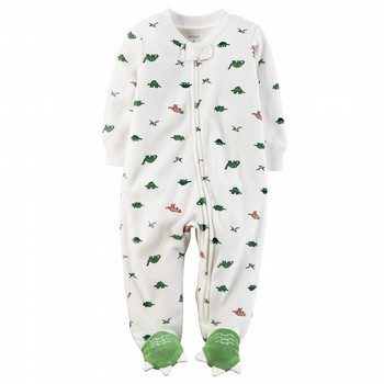 Carter's Terry Zip-Up Sleep & Play