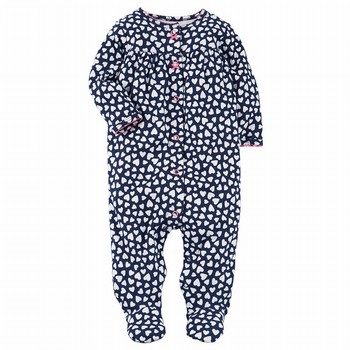 Carter's Snap-Up Heart Cotton Sleep & Play One Piece