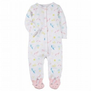 Carter's Snap-Up Unicorn Cotton Sleep & Play