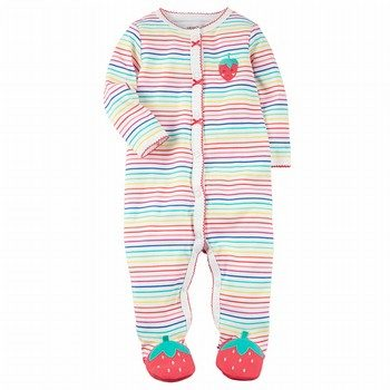 Carter's Snap-Up Strawberry Cotton Sleep & Play One Piece