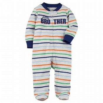 Carter's Zip-Up Little Brother Cotton Sleep & Play One Piece