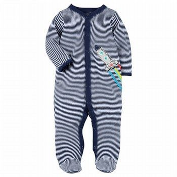 Carter's Snap-Up Rocket Cotton Sleep & Play One Piece