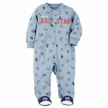 Carter's Zip-Up All-Star Cotton Sleep & Play One Piece