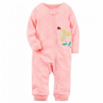 Carter's Neon Zip-Up Sleep & Play