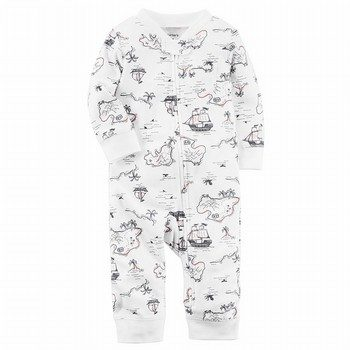 Carter's Zip-Up Cotton Sleep & Play