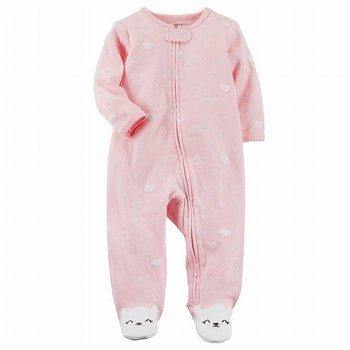 Carter's Zip-Up Bunny Cotton Sleep & Play One Piece