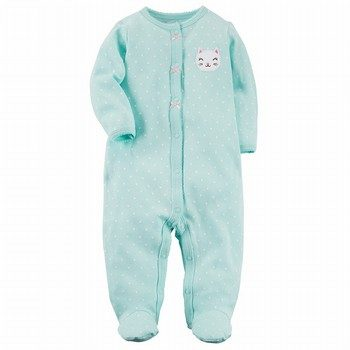 Carter's Snap-Up Bunny Cotton Sleep & Play One Piece