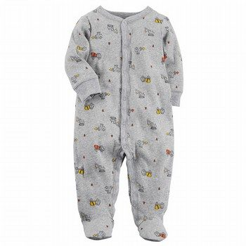 Carter's Snap-Up Truck Cotton Sleep & Play One Piece
