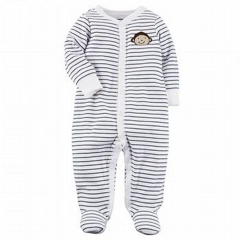 Carter's Snap-Up Monkey Cotton Sleep & Play One Piece