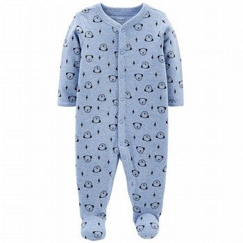 Carter's Snap-Up Thermal Sleep & Play Onepiece