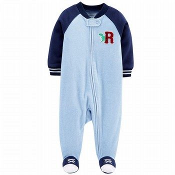 Carter's Zip-Up Fleece Sleep & Play One Piece