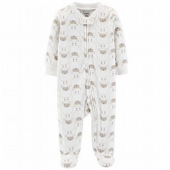 Carter's Zip-Up Fleece Sleep & Play Onepiece