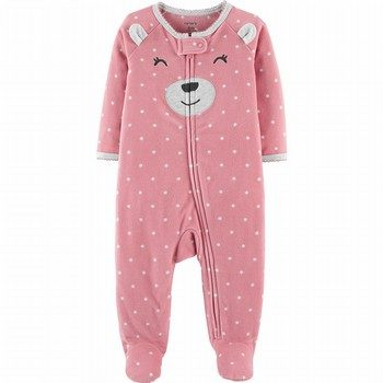 Carter's Zip Up Fleece Sleep & Play Onepiece