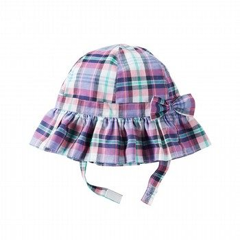OshKosh Plaid Poplin Bucket Hat