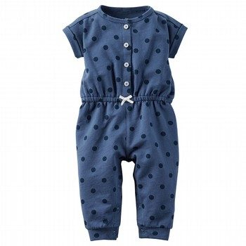 Carter's Dot Jumpsuit
