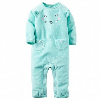 Carter's Footless Fleece One Piece
