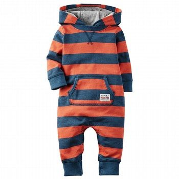 Carter's Hooded Footless One Piece