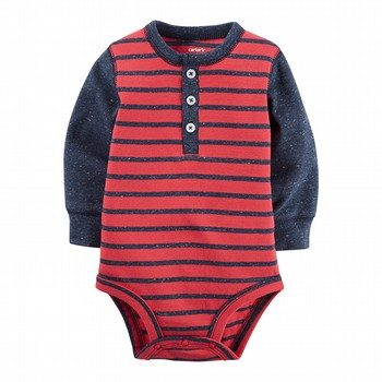 Carter's Stripe l/S Bodysuit
