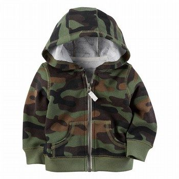 Carter's Brushed Fleece Zip-Front Hoodie