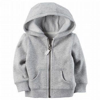 Carter's Sueded Fleece Zip-Front Hoodie