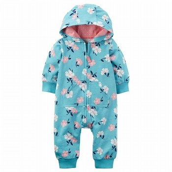 Carter's Hooded French Terry Jumpsuit
