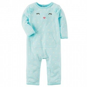 Carter's Fleece Character Jumpsuit
