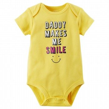 Carter's Daddy Makes Me Smile Collectible Bodysuit