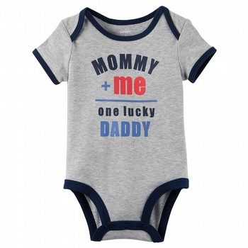 Carter's One Lucky Daddy Collectible Bodysuit
